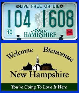 New Hampshire state slogans