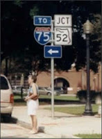 Florida Route 52 sign