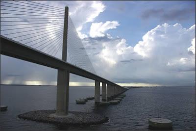 Tampa Bay's Sunshine Skyway Bridge
