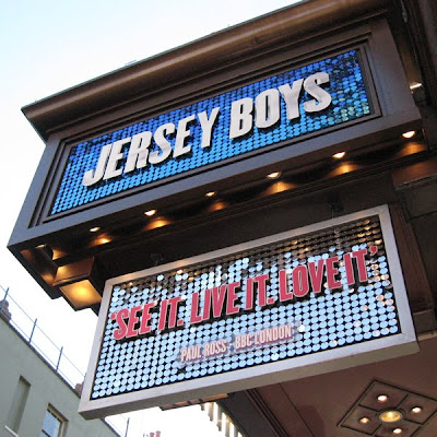 Sign: Jersey Boys, London