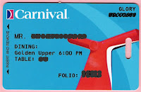 Carnival's Sail & Sign card
