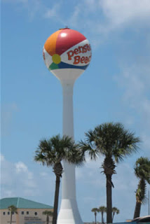 Pensacola Beach's water tower