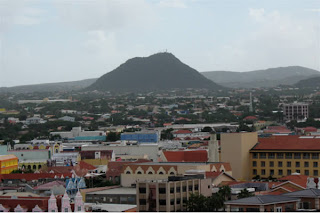 Downtown volcano, Aruba