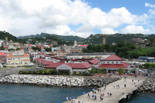 Downtown St. George's, Grenada