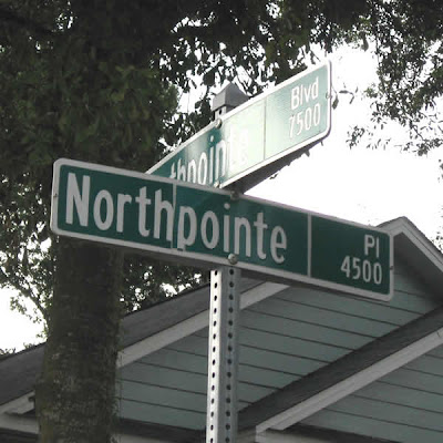 Intersection of Northpointe Boulevard and Northpointe Place