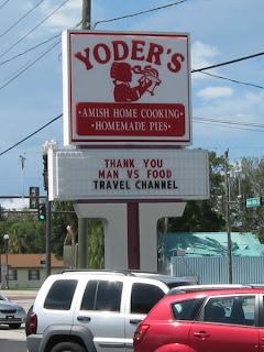 Yoder's Restaurant, Sarasota, Florida