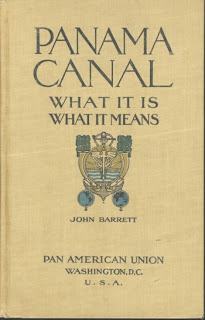 Cover of a 1913 book about the Panama Canal