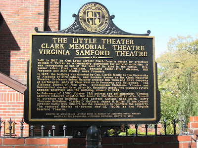 Theatre Historic Plaque