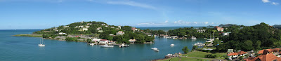 Castries Harbour, St. Lucia