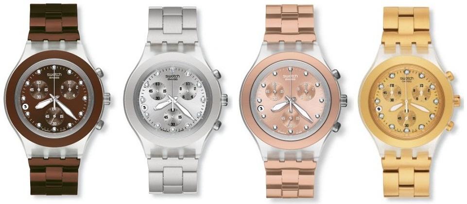 """243f5f67abf O novo """"Full Blooded"""" da Swatch pode ser definido como um relógio feminino  desportivo"""