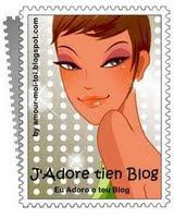 Recebi da Luciara do Blog librosdiamore