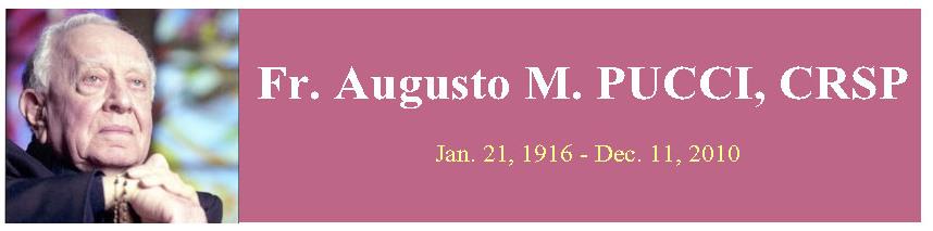 Fr. Augusto M. PUCCI, barnabite