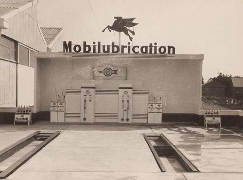 Vintage venus art deco mobil garage penrith sydney 1930s - Deco garage vintage ...