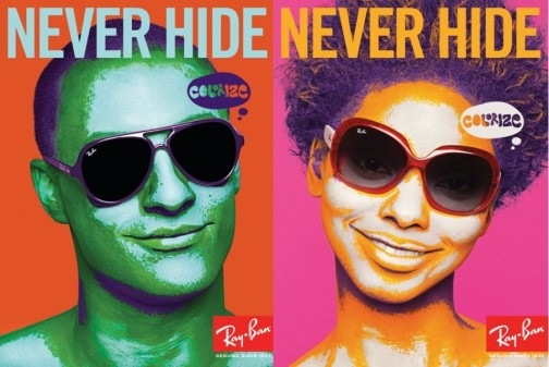 plagiarism, herbet matter, swiss style, 1930, ray ban, glasses, vintage , retro, old ads,