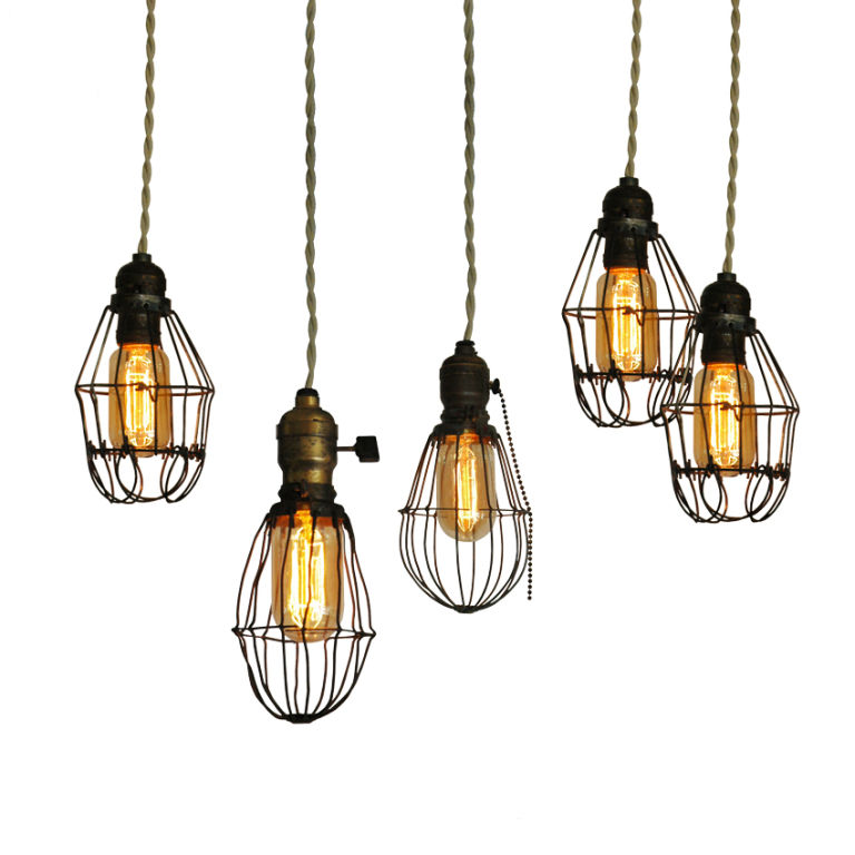 on the hunt for vintage industrial lighting for the scarlet calliope