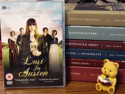 lost in austen dvds and my all