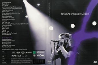 Rock show dvd bryan adams live in lisbon - Bryan adams room service live in lisbon ...