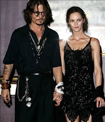 johnny depp married to. Team work