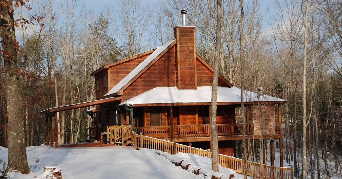 North georgia cabin rentals snow in north georgia mountains for North georgia mountain cabins for rent
