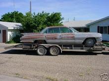 1961 cadillac sedan parts car