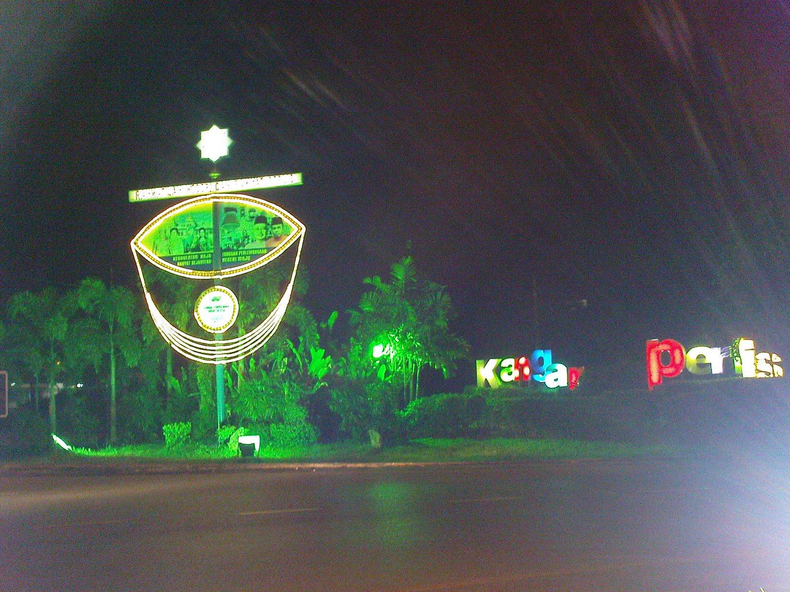 Jalan di Bandar Kangar