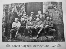 Kelvin Rowing Club 1927