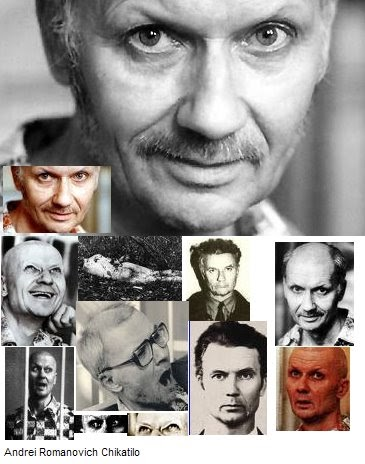 the crimes of andrei romanovich chikatilo essay Andrei chikatilo was born on october 16 andrei romanovich chikatilo was born on october 16 from the crime scenes, chikatilo was able to escape suspicion of.