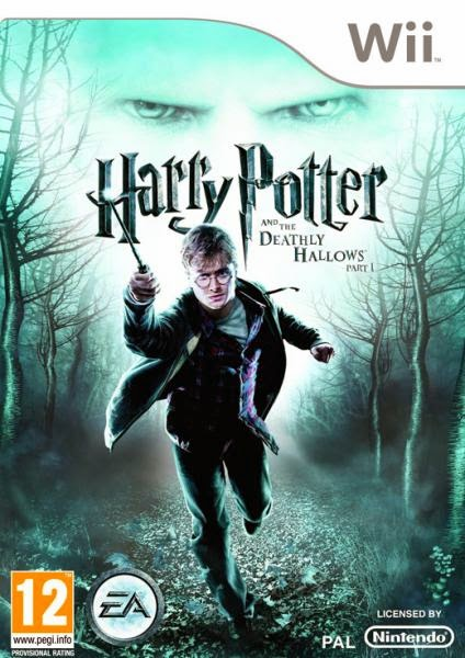harrypotterandthedeathlyhallowspart1 wii Harry Potter and the Deathly Hallows Part 1   Nintendo WII