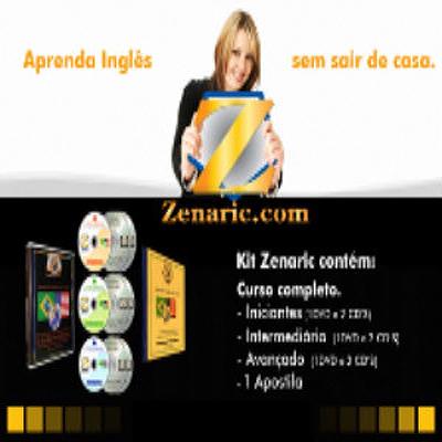 zenaric Curso de Inglês   Zenaric Completo (3 DVDs)