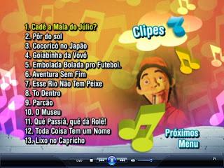 02 Cocoricó 26 Clipes Musicais na Cidade DVD R