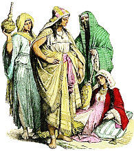 Mujeres arabes en el siglo XIII