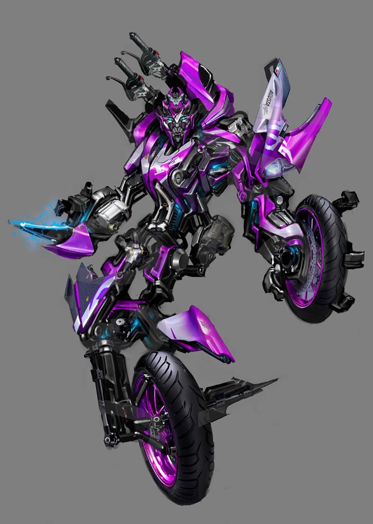 robot bikes