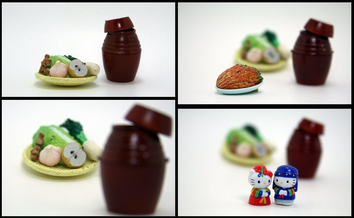 Miniature Food, Kimchi, Korean