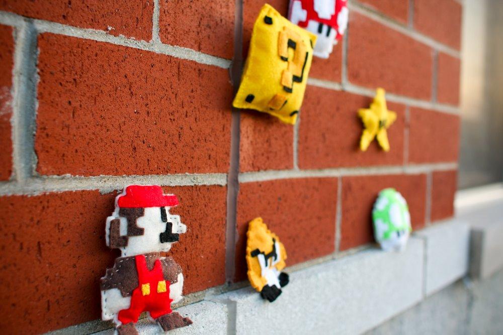 Felt, 8-Bit Mario Bros