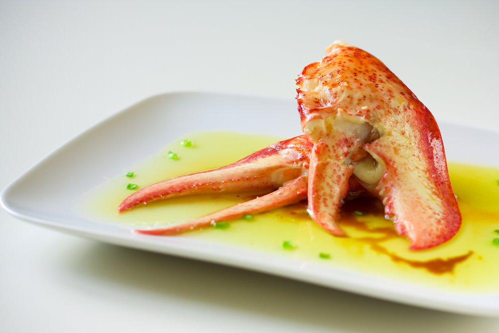 Butter Poached Lobster Claws