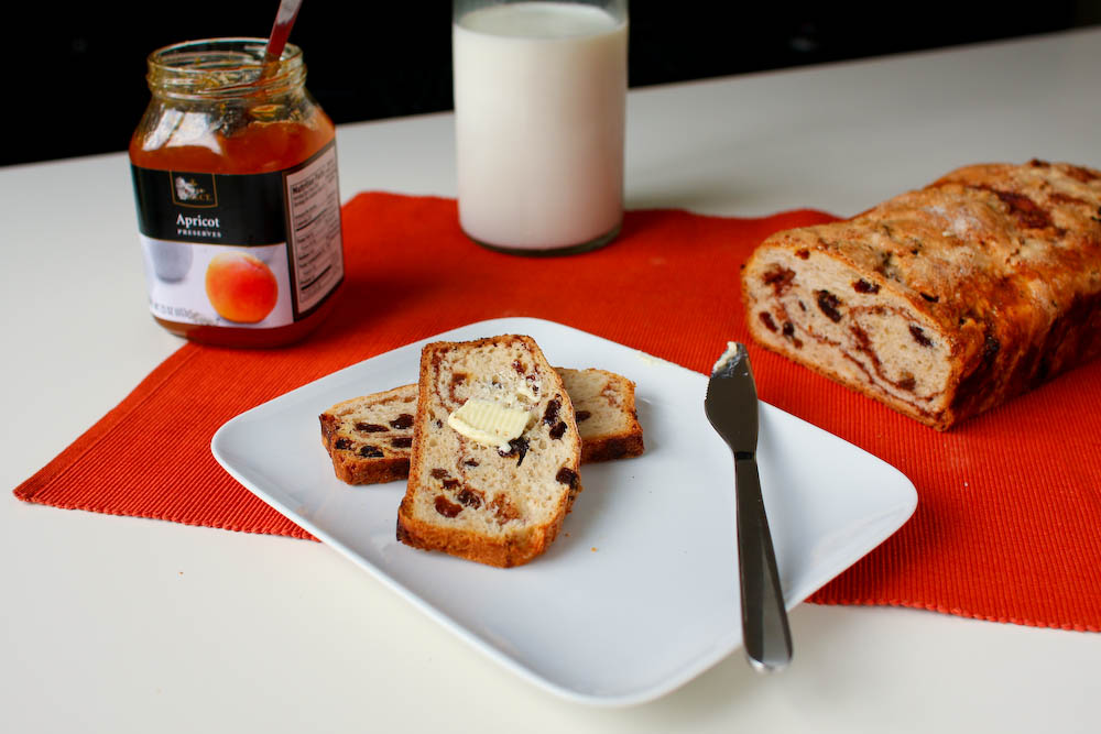 Cinnamon Raisin Bread, Martha Stewart Recipe