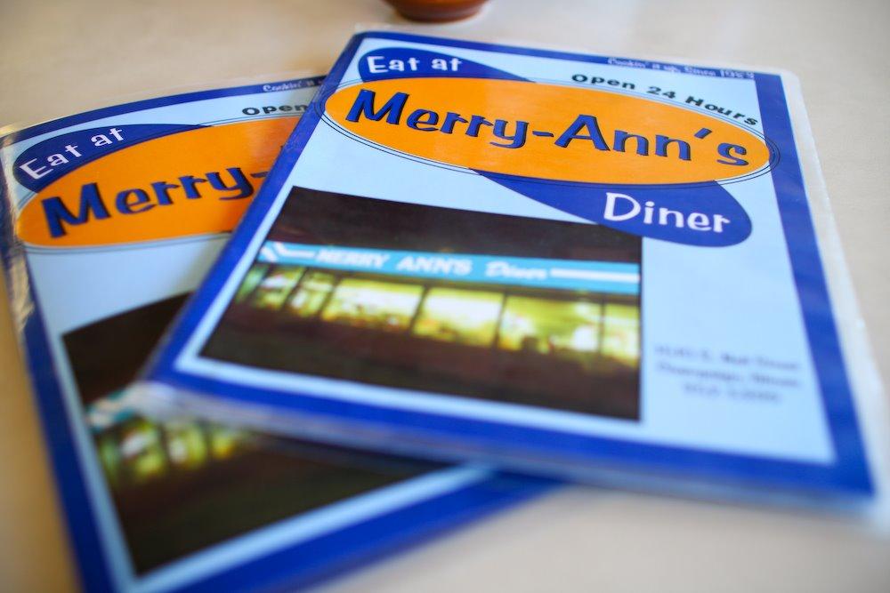 Merry Ann's Diner, Champaign, UIUC