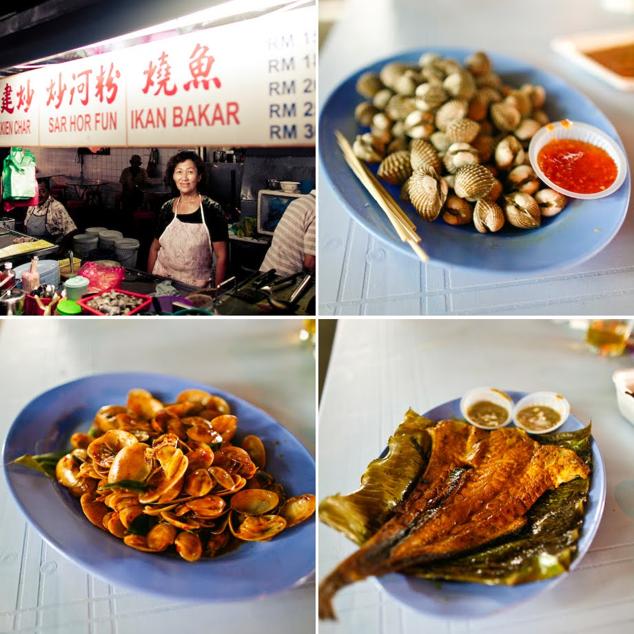 Penang, Night Market, Hawker Food