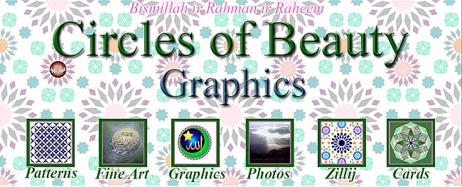 Circles of Beauty - Graphics by Ad Dawa'ir  al Jameelah