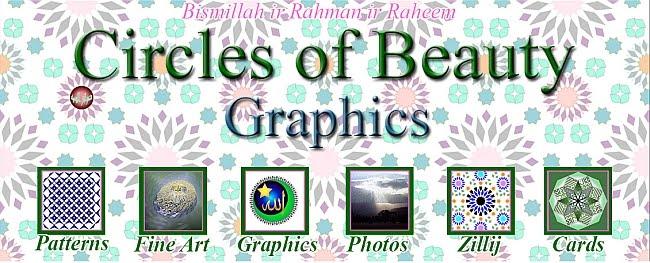 Circles of Beauty - Graphics by Ad Dawa'ir  al Jameelah