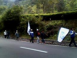 "Aksi ""Long March"" Bandung - Jakarta 25 Februari - 2 Maret 2010"