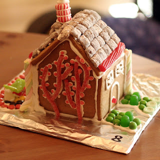 Every January, we host a Gingerbread House Party ...