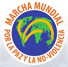 marcha mundial por la paz y no violencia