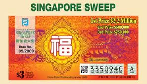 My M i X News & Views: Singapore pools big sweep