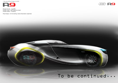 Audi on Gotinspired  Self Project Audi R9
