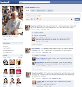 Click to embiggen and read the Pope's privateposts . (pope facebook copy)