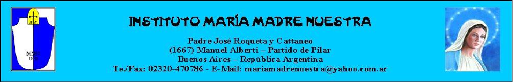 INSTITUTO MARÍA MADRE NUESTRA