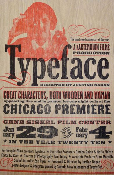 free poster review typeface a documentary film about