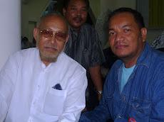 Bersama Pak Wan Datuk Ismail, bapa kpd Datin Dr Wan Azizah - 9 Mei 2009