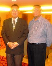Bersama Mustaffa Kamil Ayub, De Palma Inn 7 Julai 2009